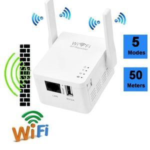 MODEM - ROUTEUR 300Mbps double bande 2,4 GHz sans fil WiFi relais