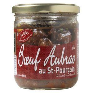 VIANDE DE BŒUF Boeuf Aubrac au vin de Saint-Pourçain rouge, Bocal