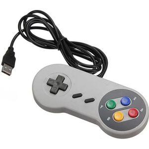 ADAPTATEUR MANETTE  Manette Contrôleur USB filaire Pour Nintendo Fami