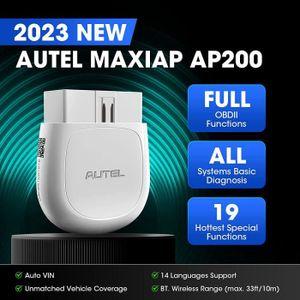 OUTIL DE DIAGNOSTIC Autel AP200 Outil Diagnostic Auto OBD2 Bluetooth a