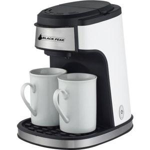 CAFETIÈRE Cafetière Blackpear BCM 619 - 2 tasses - 450W - Ca