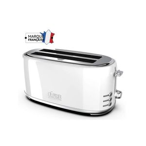 GRILLE-PAIN - TOASTER FAURE FT2L-1621 Grille-Pain - 2 longues fentes - V