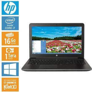 Top achat PC Portable HP ZBOOK 15 core i7 16 go ram 1 To disque dur , ordinateur portable 15 pouces pas cher