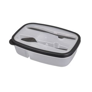 LUNCH BOX - BENTO  CDaffaires Lunch box +compartiments couverts 1.45l