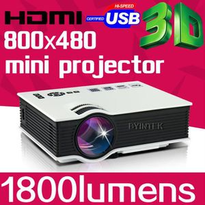 Vidéoprojecteur Byintek Mini meilleur FullHD 1080p Business Portab