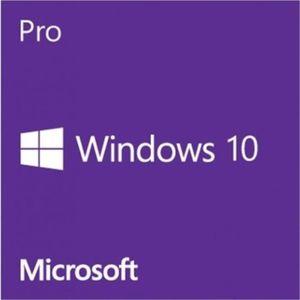 SYSTÈME D'EXPLOITATION Clé de produit Microsoft Windows 10 Pro 32 bits /