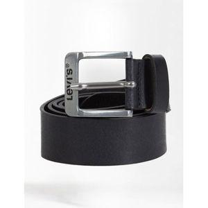 CEINTURE ET BOUCLE Levi's ceinture Homme - Noire - Free Regular - 100