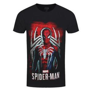 Spiderman Marvel Brand garçons à manches courtes en coton Tops T-Shirts T Shirt Taille 2-8 ans