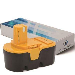 BATTERIE MACHINE OUTIL Batterie pour Ryobi P204 perceuse visseuse 3000mAh