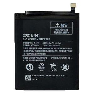 Batterie téléphone Batterie d'origine Xiaomi modèle BN41 avec 4100mAh