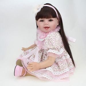 POUPÉE Collectible Dolls Real Silicone bébé Reborn 22 pou