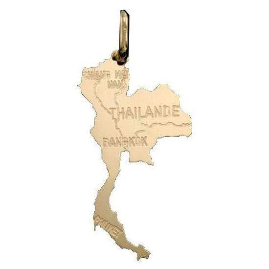 Thaïlande Pendentif en plaqué or