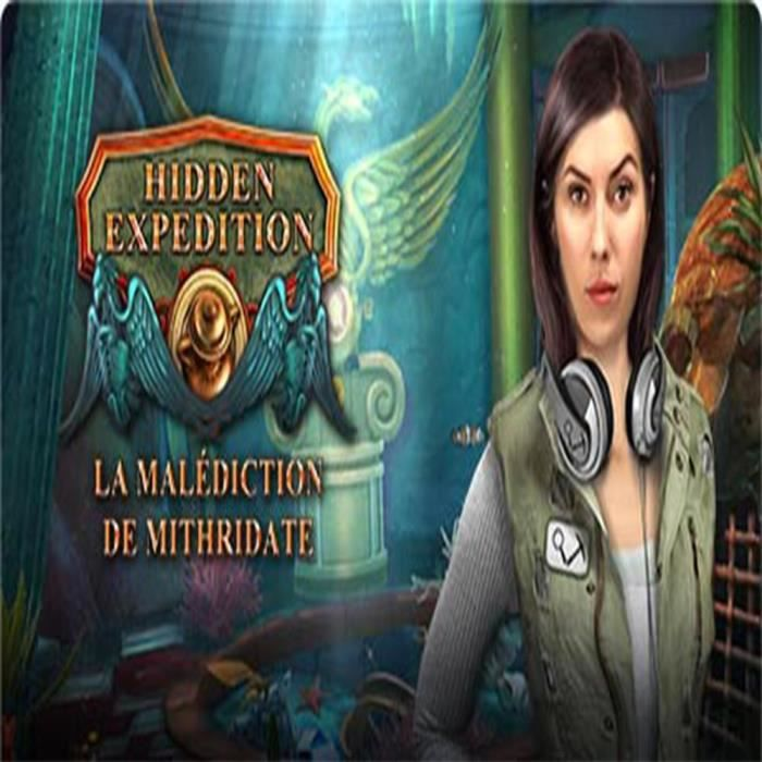 Hidden Expedition (15) La Malédiction de Mithridates Jeu PC
