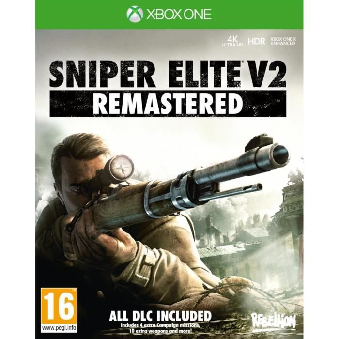 Sniper Elite 2 Remastered Jeu Xbox One