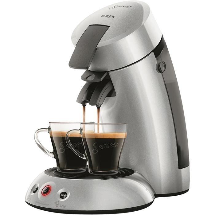 HD6556-51 Machine à Café à Dosettes Senseo Original 2.5+ Argent 0- 75 Litre[163]