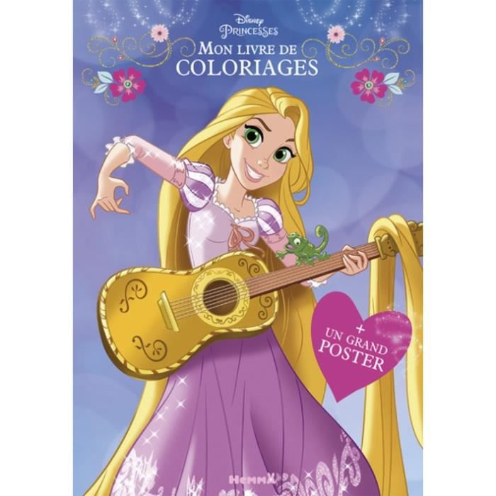 Mon Livre De Coloriages Disney Princesses Avec 1 Grand Poster Achat Vente Livre Loisirs Creatifs Mon Livre De Coloriages Disney Cdiscount