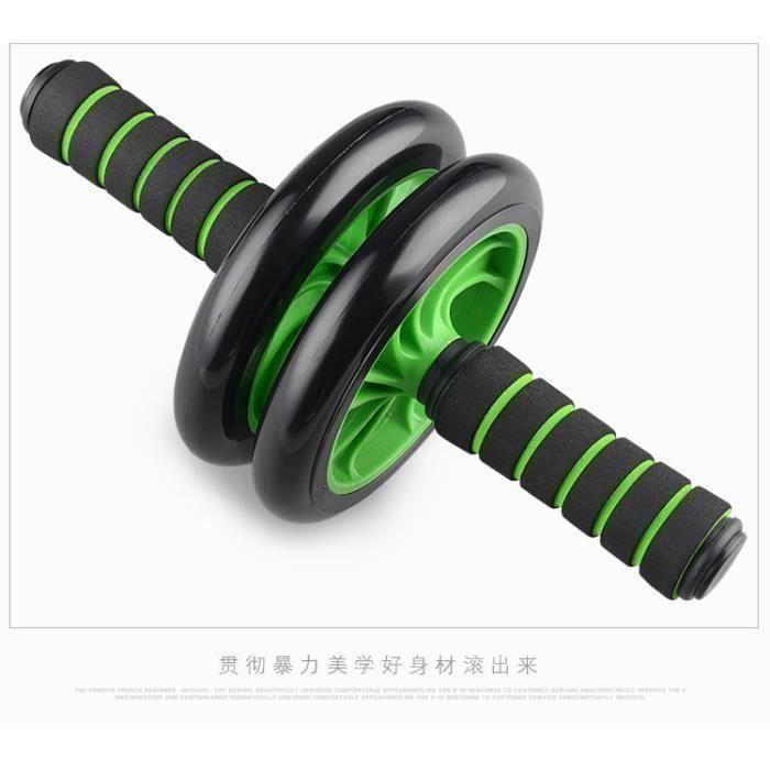 BLEOSAN Roue Abdominale, AB Wheel, Appareil Exercice Musculation Abdominaux Bi24194