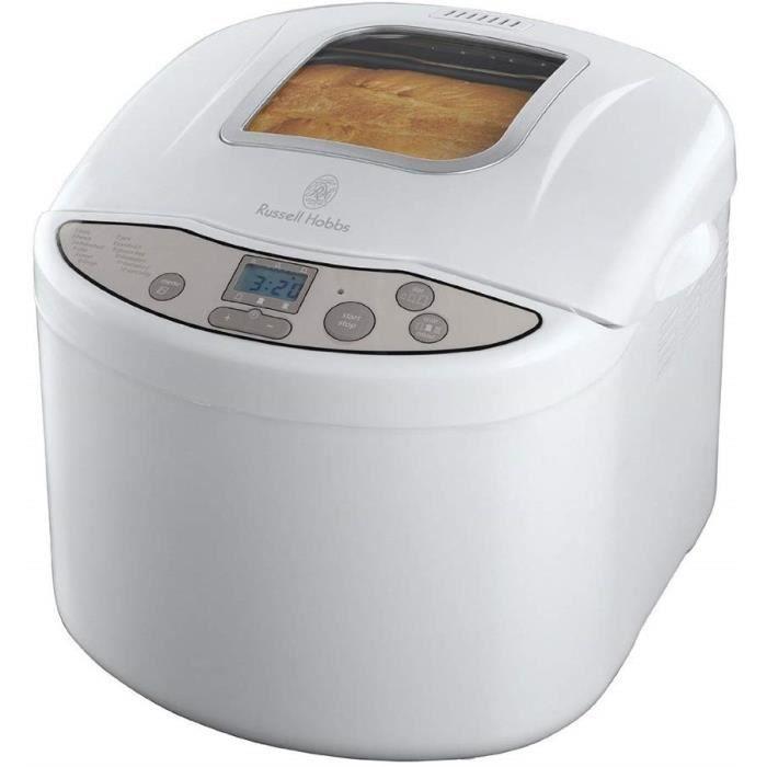 18036-56 Machine à Pain 660W Automatique Programmable Pain Classique, Baguette, Pain Complet, Pâte à Pizza