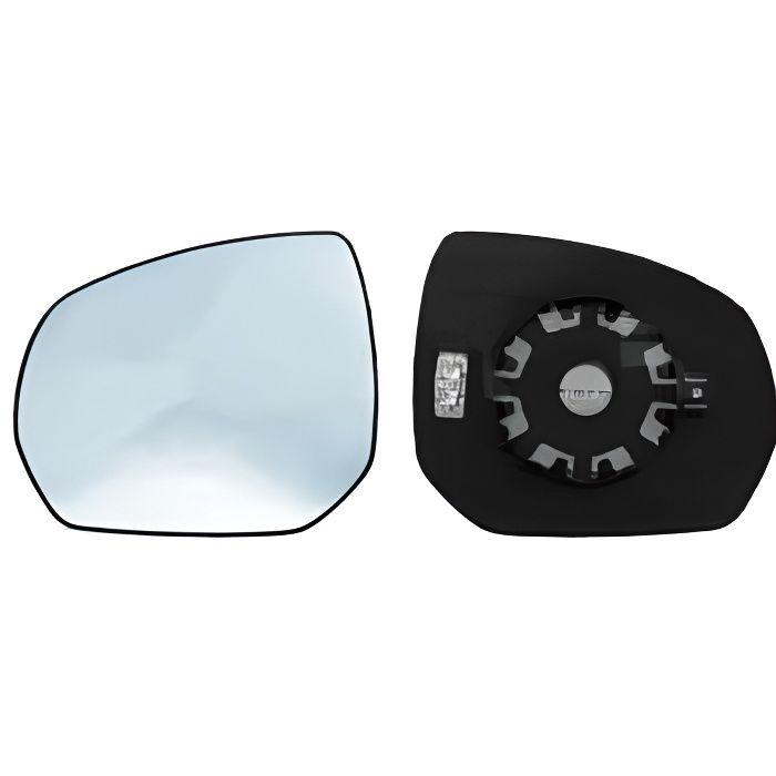 Miroir Glace rétroviseur gauche CITROËN C3 PICASSO phase 1, 2009-2012, bleu, dégivrant, à clipser.