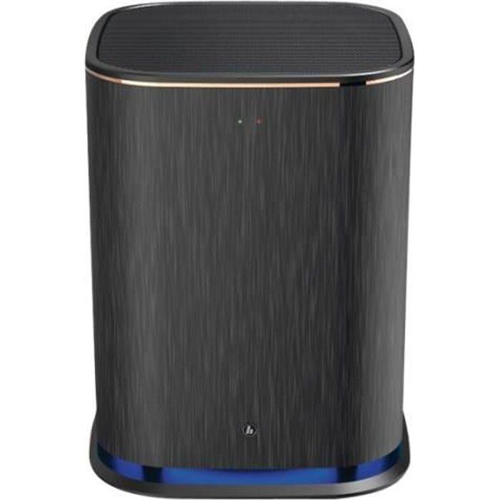 Hama -SW01M- Caisson de basses sans fil Ethernet, Wi-Fi 6.5- noir