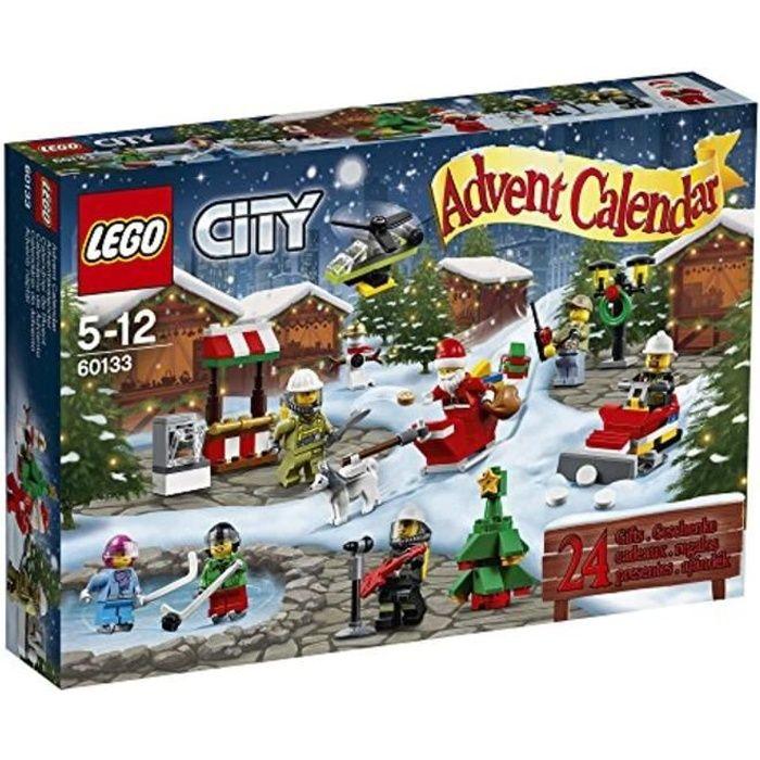 Jeu D'Assemblage LEGO F45LB Ville 60133 Ville Calendrier de l'Avent