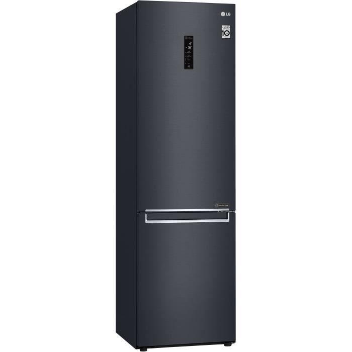 LG GBB72MCDZN- Réfrigérateur congélateur bas - 384L (277+107) - Froid ventilé A++ - L59,5m x H203cm - Carbone