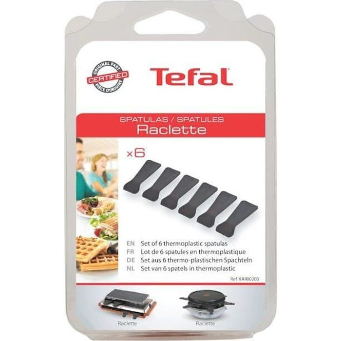 Spatules plastique par 6 pour Raclette - 3665392166450