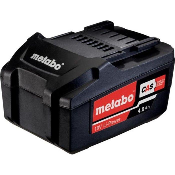 METABO Batterie 18V 4 Ah Li-Power - 625591000