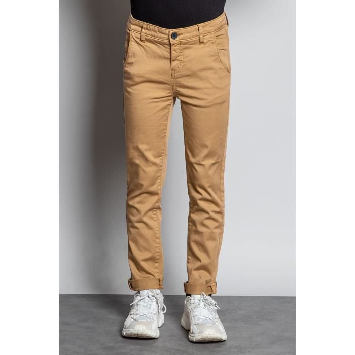 DEELUXE Pantalon chino slim LAWSON Camel