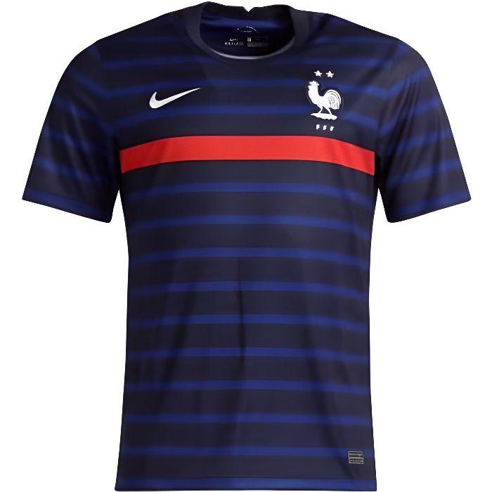 NIKE Maillot de Football FFF Domicile 20 - Mixte - Bleu