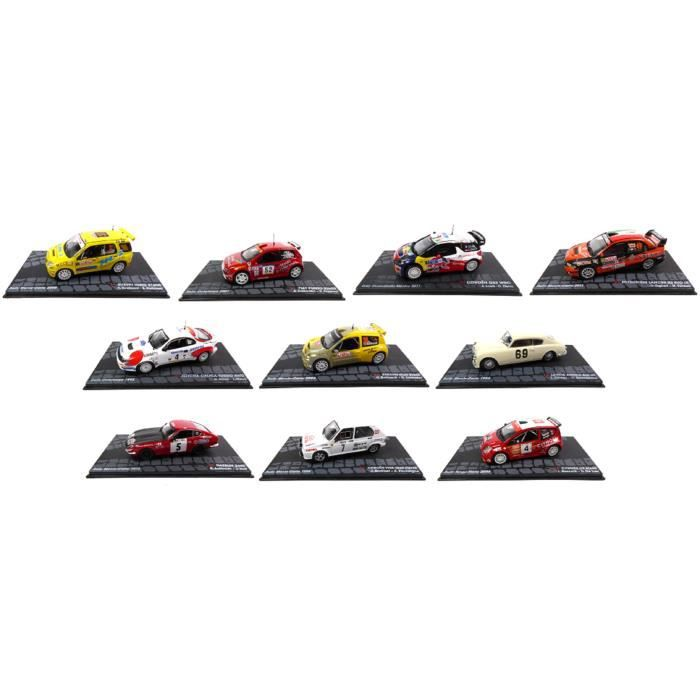 OPO 10 - Voitures de rallye WRC - Collection Ixo - Echelle 1/43