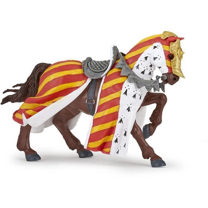 PAPO Figurine Cheval de tournoi Pour Enfant