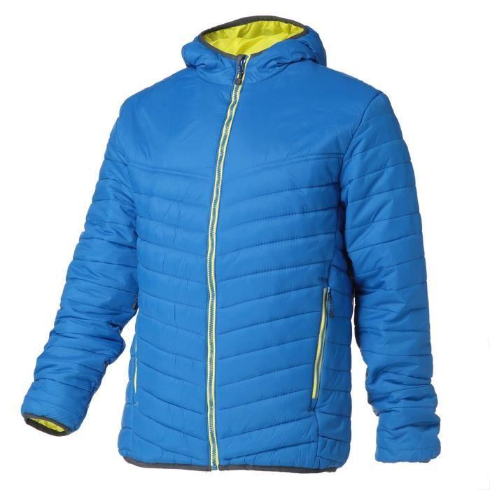 REGATTA Doudoune avec capuche, déperlante, isolation thermique warmloft 140g/m² - Bleu