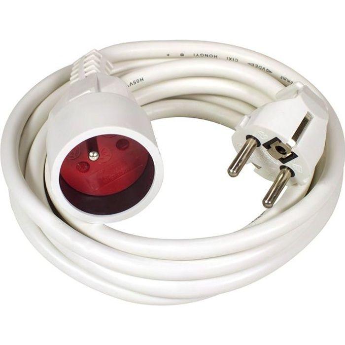 VOLTMAN Rallonge électrique 10-16A 3m + Eclipses