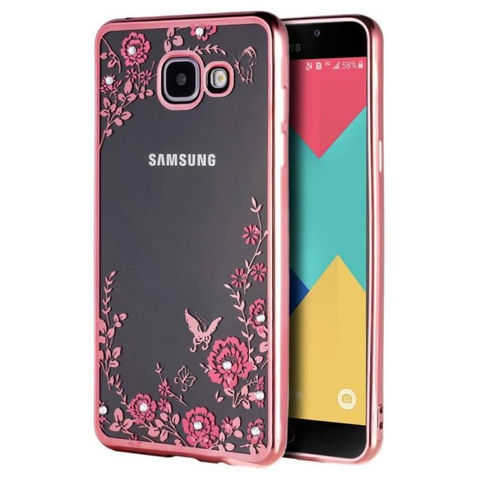 coque samsung a3 2017 rose gold