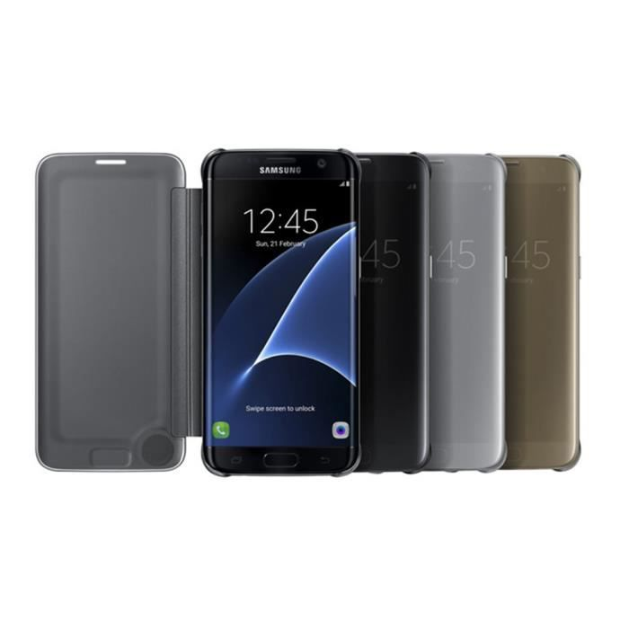 Juce® Coque pour Samsung Galaxy S7 Edge Smart Etui