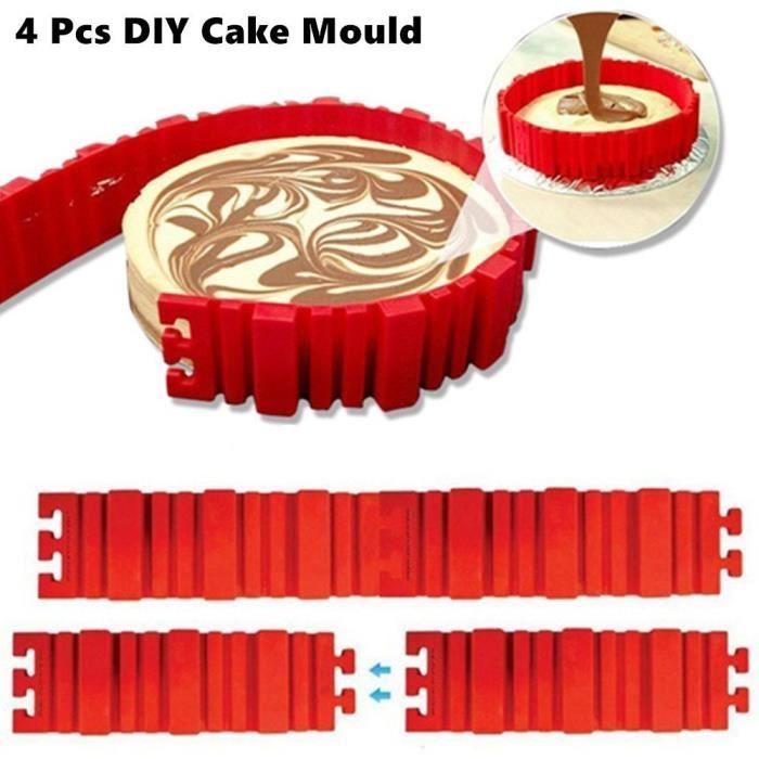 "5/"" Pouces Silicone Rond Gâteau Dessert Muffin pizza tarte de pâtisserie moule Pan Mold"