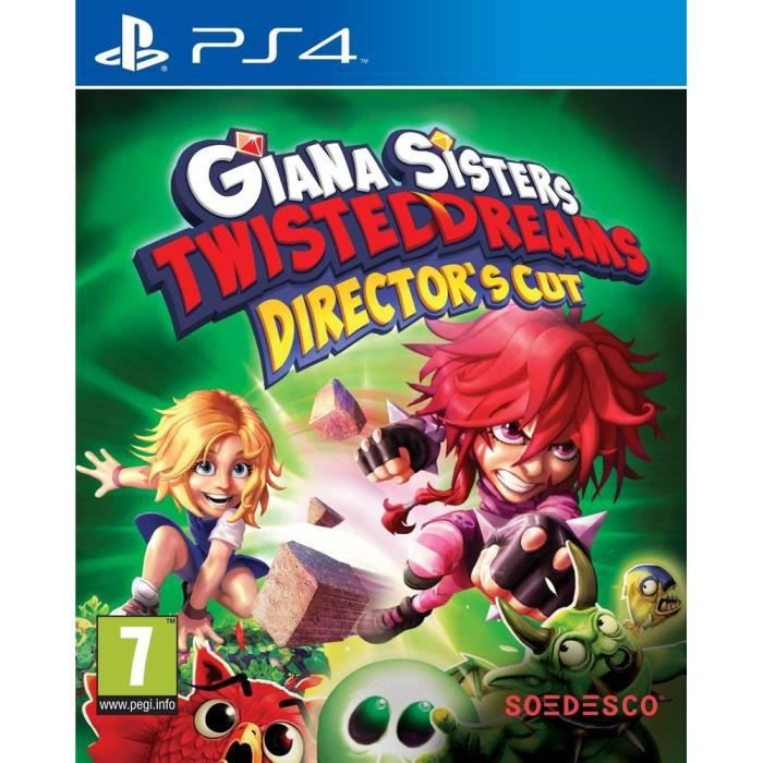 JEU PS4 Giana Sisters Twisted Dreams Directors Cut Jeu PS4
