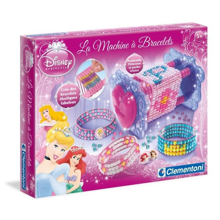 disney princesses machine bracelets clementoni achat vente cr ation de bijoux cdiscount. Black Bedroom Furniture Sets. Home Design Ideas
