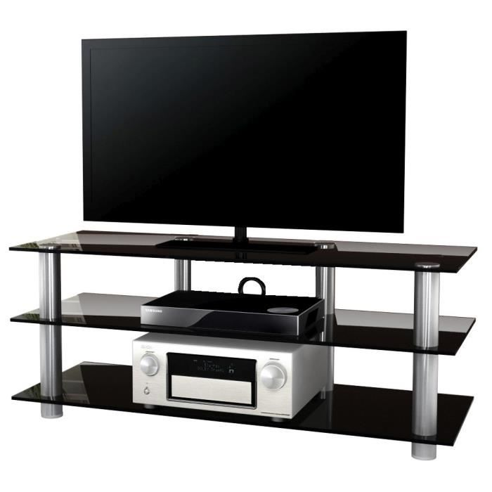 Olopa xxl meuble tv hifi video commode rangement verre for Meubles xxl metz