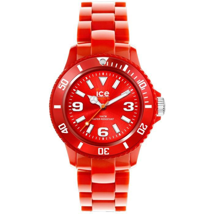 Montre Ice Watch Rouge Ice Solid Red SD.RD.S.P.12 Rouge, - Achat ... 8c672e9d637b