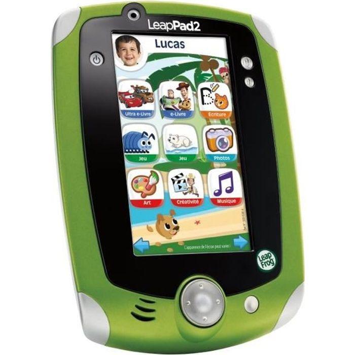 TABLETTE ENFANT LEAPFROG LeapPad 2 Vert Tablette Enfant éducative