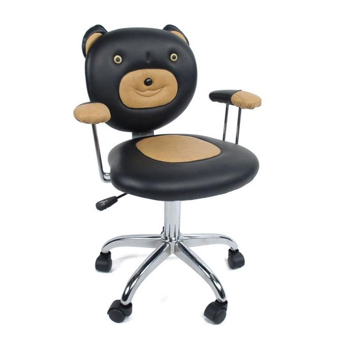 fauteuil chaise de bureau enfant ours l o achat. Black Bedroom Furniture Sets. Home Design Ideas
