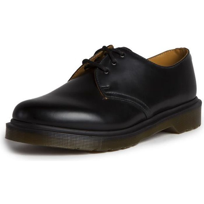 doc martens 1461 pw noir noir achat vente bottine cdiscount. Black Bedroom Furniture Sets. Home Design Ideas