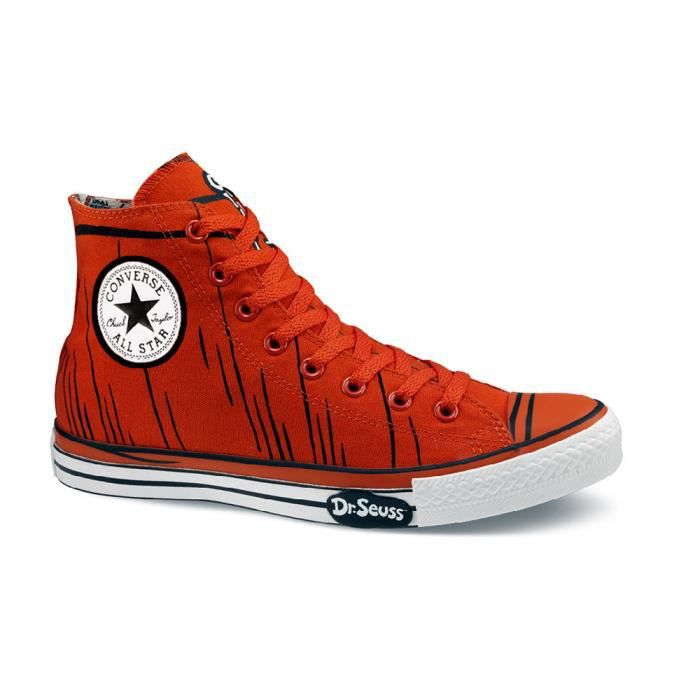 CONVERSE ALL STAR LIMITED DR. SEUSS GRENADINE / ORANGE