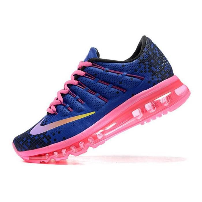 reputable site hot product buy cheap Femmes Nike Air Max 2016 Baskets Chaussures de running bleu et ...