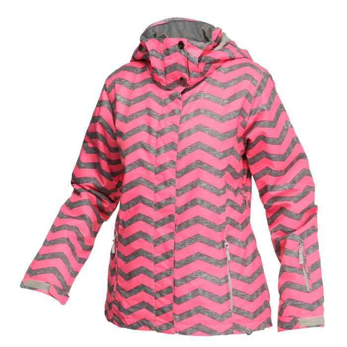 roxy veste de ski jetty zig zag femme achat vente blouson manteau roxy veste de ski jetty. Black Bedroom Furniture Sets. Home Design Ideas