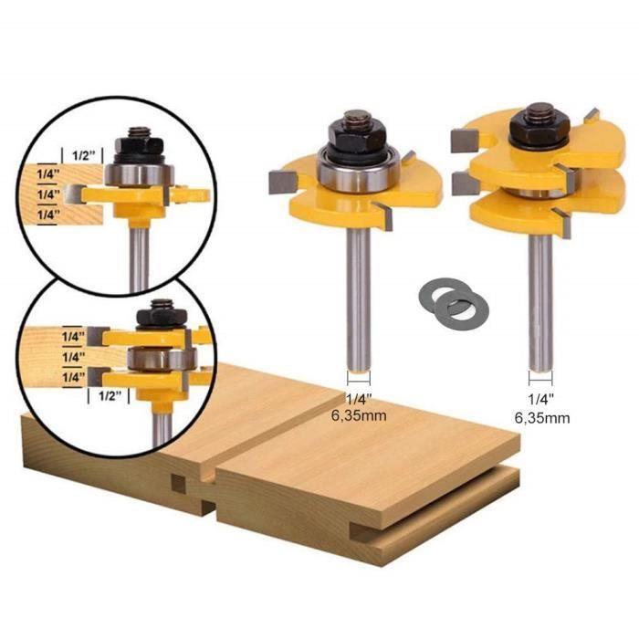"""Rayon 1//4/"""" tige ronde de perles Bordure Routeur Bit Woodworking Tools"""