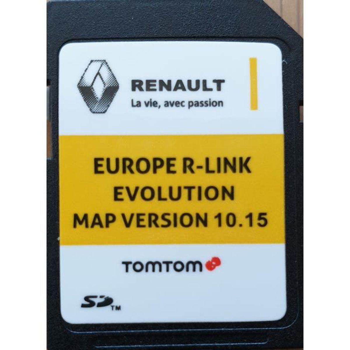 acheter carte sd r link Carte SD GPS Europe 2019   10.15   Renault R Link   Achat / Vente