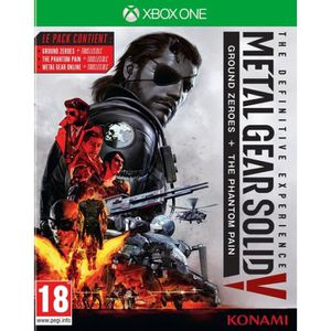 JEUX XBOX ONE MGS V The Definitive Experience Jeu Xbox One